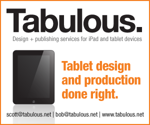 Visit Tabulout.net for the best in tablet publishing